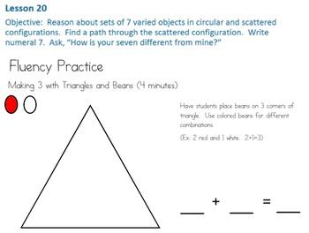 Eureka Math/Engage NY Kindergarten Module 1 Lesson 20