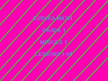Eureka math MODULE 1 First grade