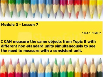Eureka math module 3 lesson 7 first grade