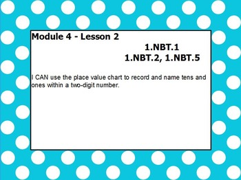 Eureka math module 4 lesson 2 first grade