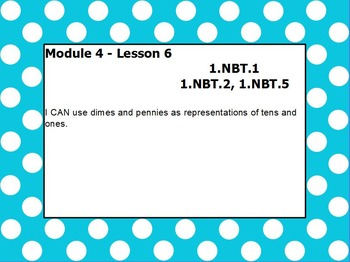 Eureka math module 4 lesson 6 first grade