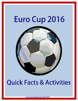 Euro Cup 2016 Quick Facts & Activities