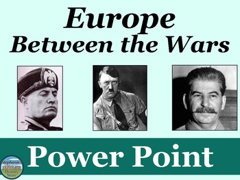 Europe Between the Wars Power Point