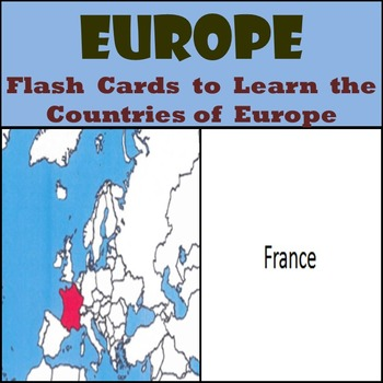 Europe - Country Flash Cards - Learn the Countries of Europe!