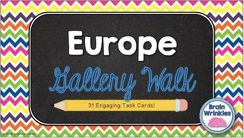 Europe Gallery Walk (Task Cards)