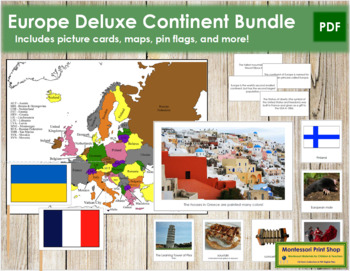Europe Geography Deluxe Bundle