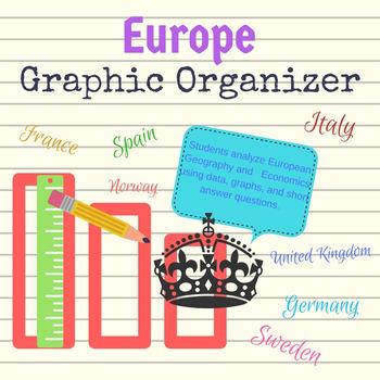Europe Graphic Organizer