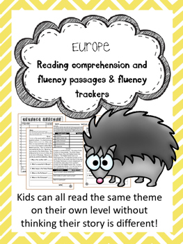 Europe fluency and comprehension leveled passage