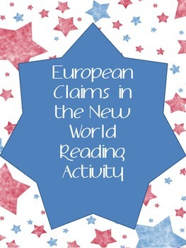 European Claims in the New World Reading Activity