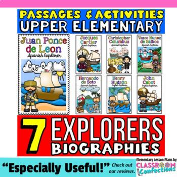Explorers: Passages: Hudson, Cartier, Cabot, Balboa, Ponce