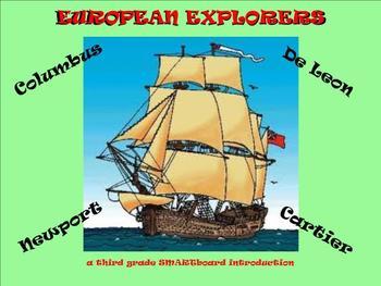 European Explorers - A Third Grade SMARTboard Introduction