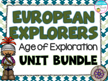 European Explorers Unit Bundle- Cabot, Hudson, Balboa, Leo