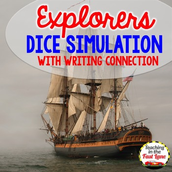 European Explorers Dice Simulation with Writing Connection