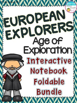 European Explorers Foldables- Cabot, Hudson, Cartier, Colu