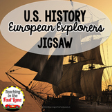 European Explorers Jigsaw Activity (U.S. History)