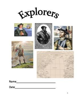 European Explorers Packet Virginia SOL 3.3,3.5