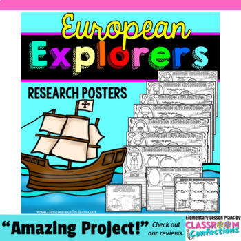 Explorers Activity: European Explorers Posters (research)