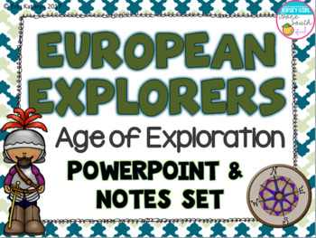 European Explorers PowerPoint, Posters, and Interactive No