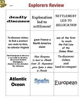 European Explorers Review Sort