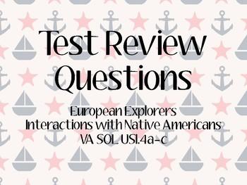 European Explorers Task Cards