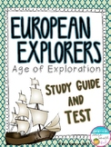 European Explorers Test & Study Guide - Columbus, Leon, Hu