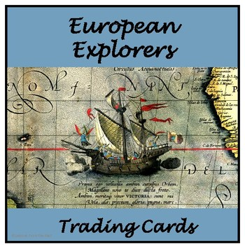European Explorers Trading Cards