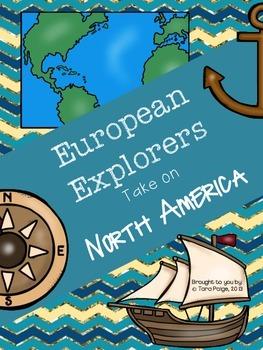 European Explorers in North America HUGE UNIT