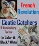 European History Activities - Cootie Catchers Bundle