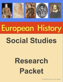 European History Extension Packet