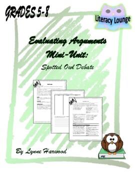Evaluating Argumentative Text Mini-Unit