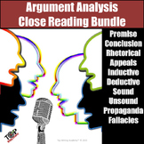 Argument Analysis Unit Critical Thinking