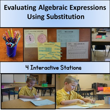 Evaluating Algebraic Expressions Using Substitution