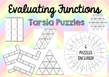 Evaluating Functions Tarsia Puzzle