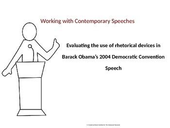Evaluating Rhetorical Devices in Obama's 2004 Democratic C