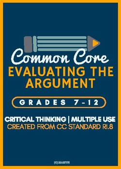 Evaluating the Argument (Developed specifically for the Co