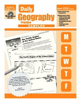Daily Geography Practice Sample Lessons