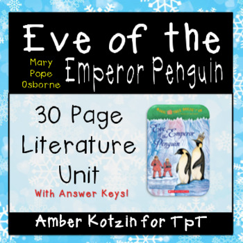 Eve of the Emperor Penguin Magic Tree House Literature Gui