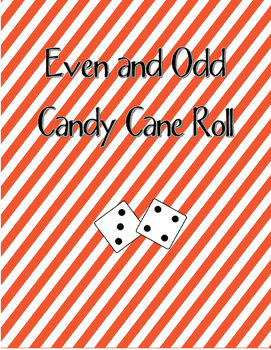 Even and Odd Candy Cane Roll