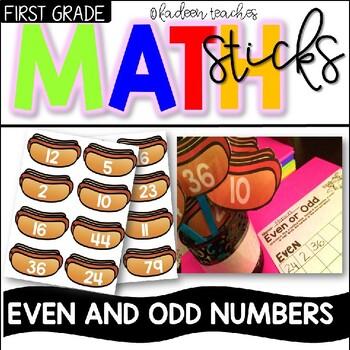 Even and Odd Center Sticks