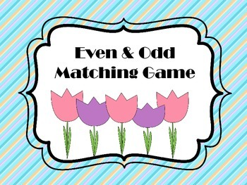 Even and Odd Matching Game