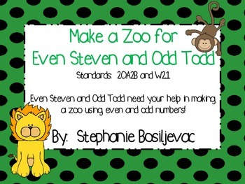 Even and Odd Numbers:  Creating a Zoo
