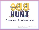 Even and Odd Numbers Egg Hunt