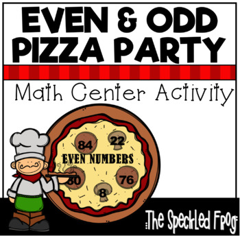 Even and Odd Numbers Math Center