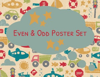 Even and Odd Poster Set