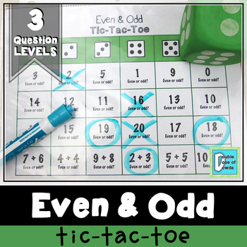 Even and Odd Tic-Tac-Toe