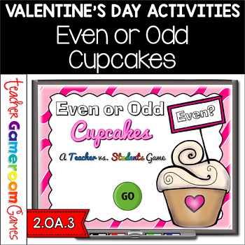 Even or Odd Numbers Valentine's Day Powerpoint Game