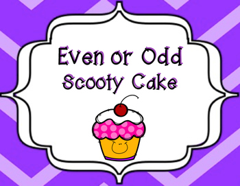 Even or Odd Scoot Cards