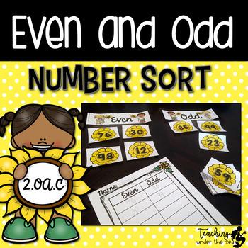 Even or Odd Sunflower Sort