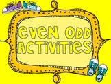 Even or Odd activites