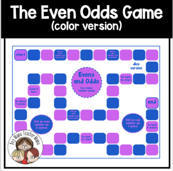 Evens and Odds: A Number Game